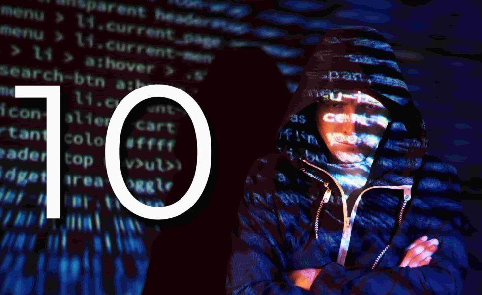 10 ataques hacking comunes